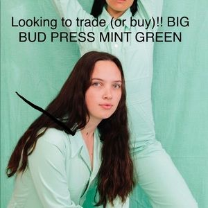 Big Bud Press everyday jumpsuit mint green XS